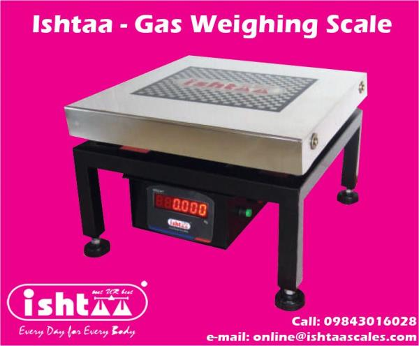 Easy Solution to Weigh Gas Cylinders.. Upto 100kg.. Buy Best Gas Weighing Scales for LPG Gas Agencies, Gas Cylinder Godowns & Industrial Gas Cylinders.. CB Model - Best Price Available.  Mail us: online@ishtaascales.com Visit: www.ishtaascales.com