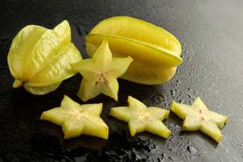 Starfruit helps in weight loss says Dr Deepa Agarwal, Best Dietician in Hyderabad.  Not only does this fruit have a sweet yellow apple flavor, it's also loaded with potassium. It is also an excellent  - by Weight Loss Hyderabad, Hyderabad