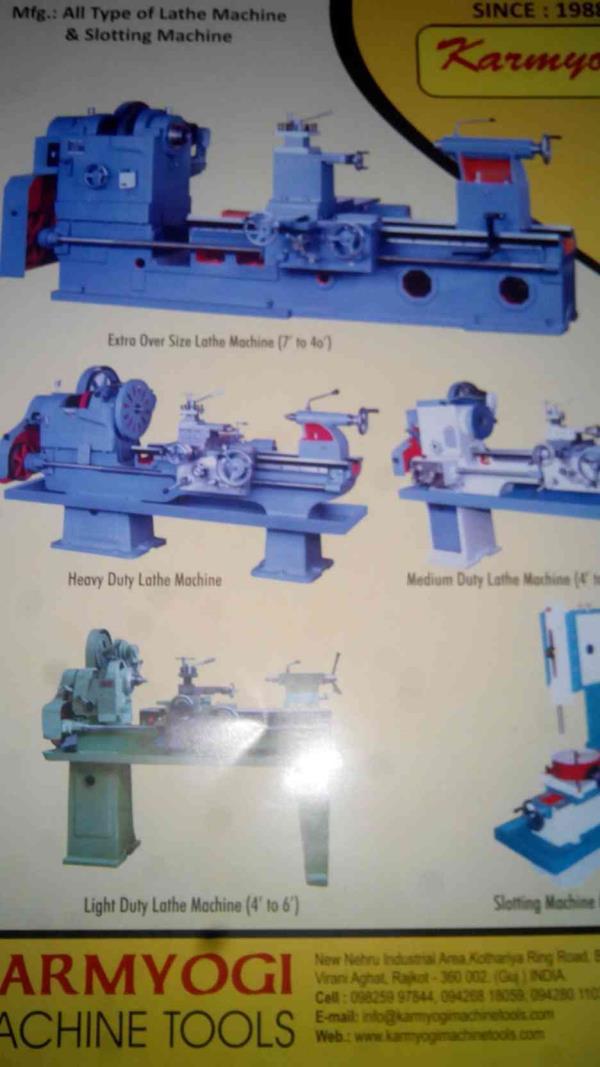 Heavy Duty lathe machine manufacturer in india