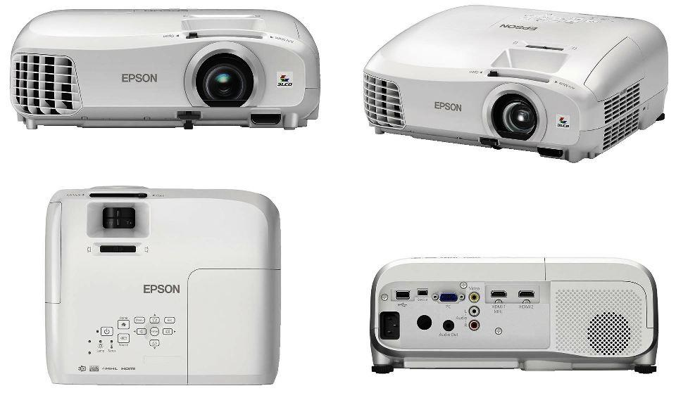 New Epson Projector Product launch.  Epson EH TW 5300  Full HD, 3D Projector,  2200 lumens brightness, 35000 : 1 contrast ratio,  Advanced video processor with Frame Interpolation, 2D to 3D conversion, Miracast ready,  Call for the Unbelievable price available exclusively at Viewtech Hyderabad, the Authorized Epson Projector Dealers.