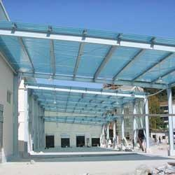 FRP Roofing Shade We are involve in offering superior quality FRP Roofing Shade. These FRP Roof Shade are widely used in houses, restaurants and shops. We elegantly fabricate these FRP Roof Shade using excellent quality fiber glass. - by Unitech Fibre Glass Enterprises, Indore
