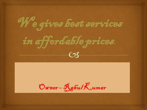 BEST SERVICES IN AFFORDABLE PRICE. - by shine customer solutions, auraiya