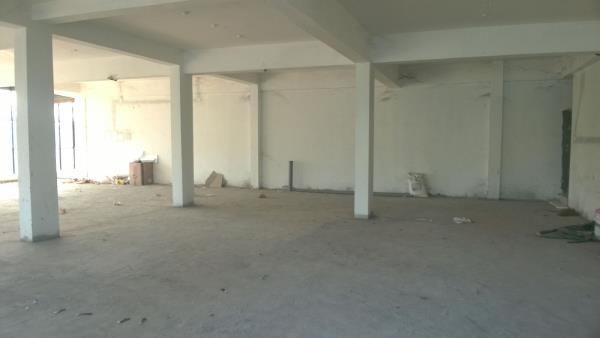 Its A Big Hall. The Job Has Begun