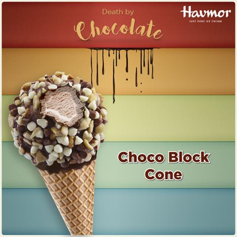 Relish the goodness of #DeathByChocolate with the crunchy munchy Choco Block.