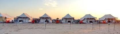 Camps in Sam Desert Jaisalmer - by camel safari dunes camp, Sam