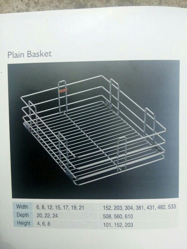 Ss kitchen basket - by Darshit Enterprise, Rajkot
