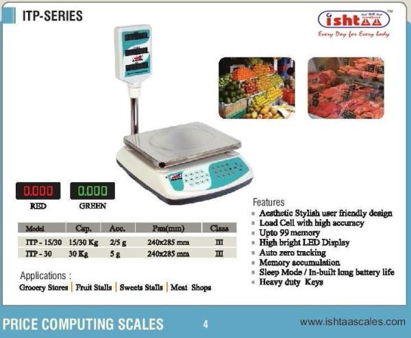 Best Price Computing Scale in Coimbatore  Best Supermarket Scales Best Fruits Weighing Scale Best Vegetable Weighing Scale Userfriendly Weighing Scale Retailer Weighing Scale Economic Weighing Scale in Tamilnadu Memory Storage Weighing Scale Weighing Scale at Best Price.  Ishtaa Price Computing Scales..