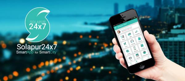 Coming on 6th January.... Solapur24x7- SmartApp for SmartCity-An intelligent personal assistant app that helps you get more things done. EVerything related of Solapur and Solapurkar's Daily Life stuff in Single App. How Solapur24x7 works Te - by Cooee Messenger, Pune