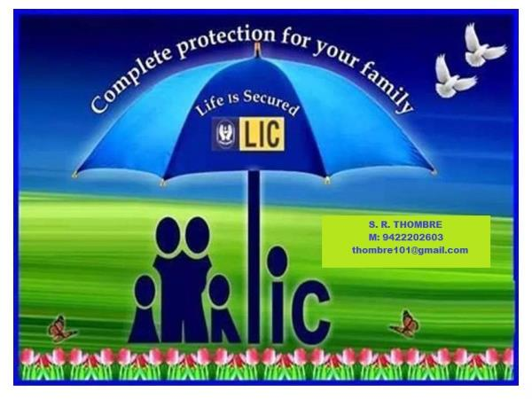 All type of Insurance policies under one roof - by Sahebrao Thombre, Aurangabad