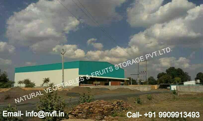 we are world's largest Cold Storage manufacturer in Rajkot. - by Natural Vegetables & Fruits Storage Pvt.ltd., Rajkot