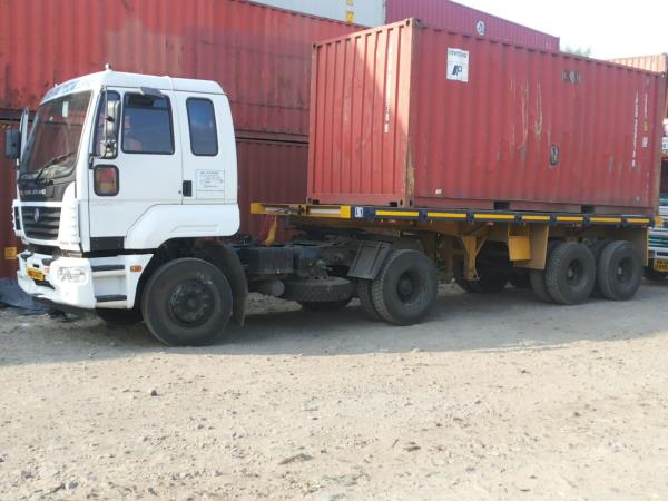 CONTAINER SEGMENT We provide transportation services in Container Segment. - by Hundekkaree Goodss Transport Service, Pune