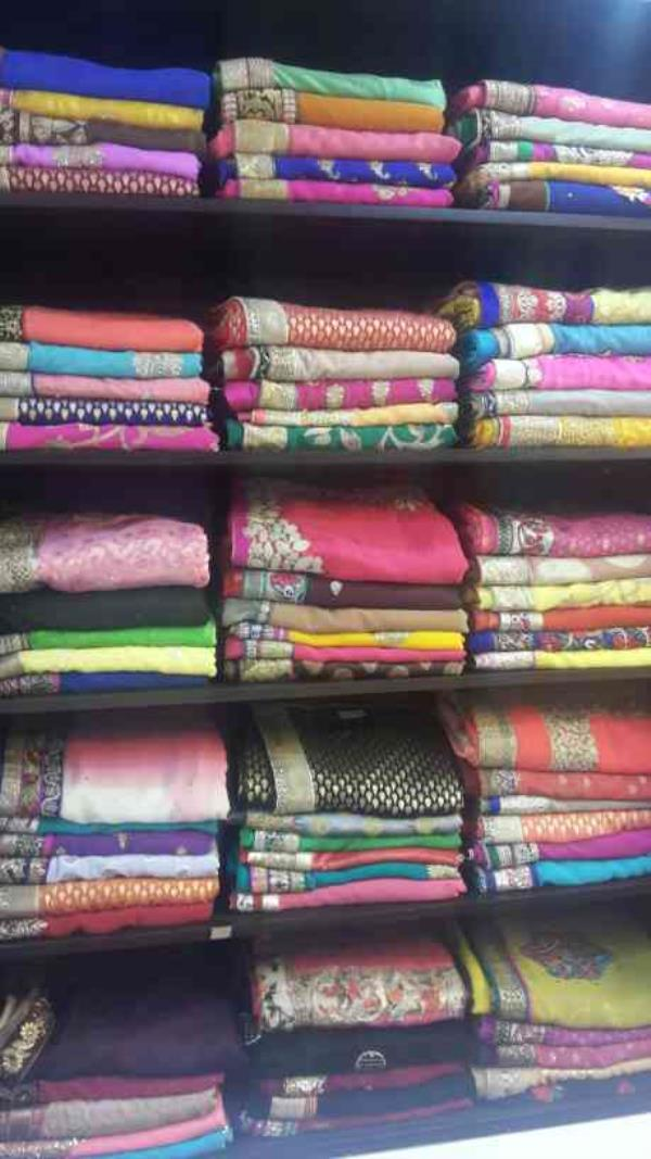 designer sarees - by Srishah Sarees, Kukatpally Housing Board Colony