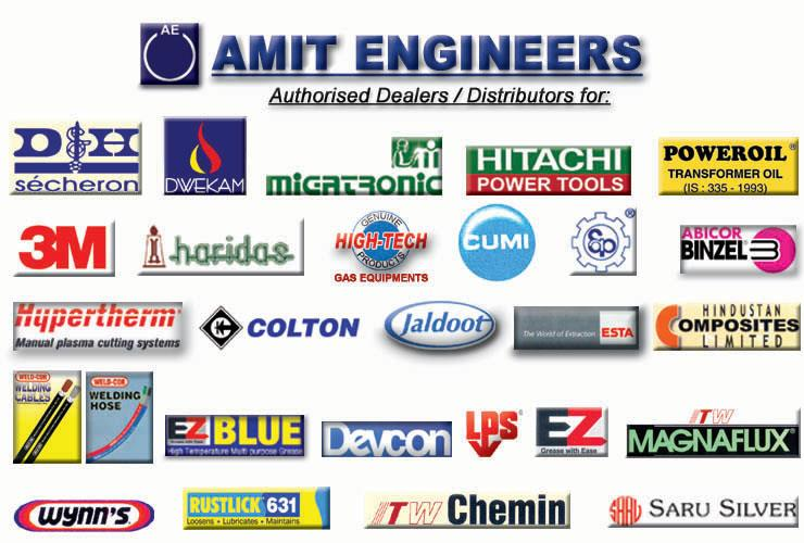 We Deal With All Our Loyal Suppliers. #CoatedAbrasives #PowerTools #GasEquipments #WeldingHose #PFSolvents #TIG #MIG #Torches #TungstenElectrodes and many more Industrial Equipments #AmitEngineers - by Amit Engineers | Industrial Welding Equipments, Visakhapatnam