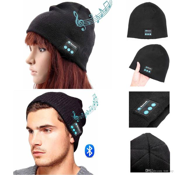 PRODUCT DETAILS: Wireless Bluetooth Smart Cap Headphone Headset Speaker Mic Warm Beanie Hat Product Description  Description: Knitted material, fashion and keep warm with answer the phone in winter Set-in MIC, available for cell phone to transmit the speaking phone to your audio devices directly so that the user can hand free answering phone up via the device. Set-in Li-ion chargeable battery, charge via USB Cable, long stand-by time.  Specifications: Bluetooth Version: V3.0+EDR Frequency: 2.4026GHz-2.480GHz Transmission distance: 30ft or so Transmission distance of MIC: ≤3 ft Li-ion Battery:3.7V/120mA Charging time:2.5 HRS Standby time:60 Hrs Continuous working time: about 5Hrs Bluetooth name:Magic Hat Size:Fits for head circumference 56-62cm  Speakers can be taken off so that you can wash the hat Quantity:1pcs About bluetooth pairing:  1. Press