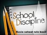 Discipline :  we strictly follow discipline in school from nursery to senior standard and no excuses are accepted, we ensure that each and  every one should follow school rules strictly.