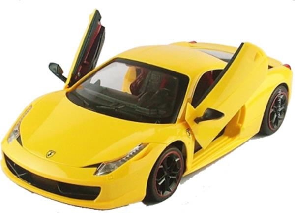 A2b Super 458 the Model Car  The A2b Super 458 the Model Car is an attractive RC toy for the kids who love premium cars. It can be purchased for an affordable price of 1399 INR, which is less as compared to its high quality built and performance.  Looks  This car looks similar to the Lamborghini cars because of its style and curves. It is a relatively small car as compared to other remote controlled cars in the market with the ratio of 1:24. However, we assure you that you are looking into a tough car.  Age Group  You can purchase this car for the kids belonging to the age group of 3-15 years. Its look and thrilling speed will also attract adults no matter what their age is.  Controlling  This car comes with a handy remote control unit with pretty nice features. There are controls for forward – backward and left-right movement of the car which makes playing more easy and enjoyable.  For More Info:  Visit  Our Store or Website  http://www.downtowngifters.in  DownTown is Here for Children Toys at Shalimar Bagh in Delhi