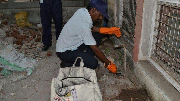Our worker at work are providing the non toxic , non hazardous method for treatment  termite control services in ghaziabad rat control services in ghaziabad pest control services in ghaziabad. best pest control in ghaziabad best pest contro - by Jukaso Pest Control Pvt Ltd | 7838381536, Greater Noida