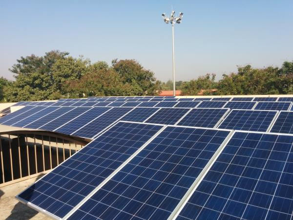 WE HAVE SUCCESSFULLY COMISSIONED 50 KW GRID TIED ROOFTOP SOLAR POWER PROJECT IN SILVASSA