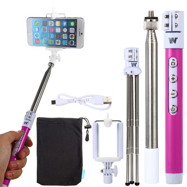 How about clicking a selfy from a wireless blue tooth enabled selfy stick with zoom facility. Purely Amazing At Downtown in Shalimar Bagh,   For More Info:  Visit our Store or Website  www.downtowngifters.in  DOWN TOWN - Original Good Quality Selfy Stick Wireless Bluetooth Enabled with Zoom Facility