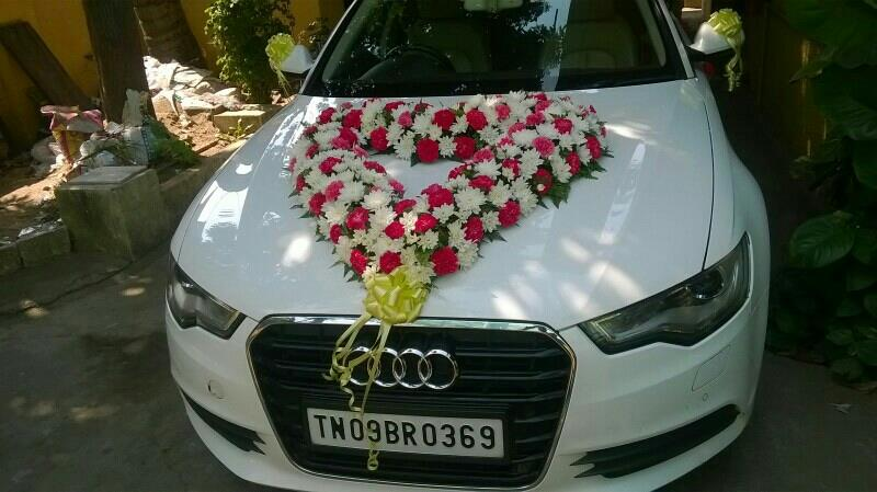 This January wedding season has started.plenty if bridal car bookings. With and without decoration . We have all sorts of cars like Audi,  BMW, BENZ , Jaguar, Corolla altis for bridal car rentals. Luxury car rental chennai
