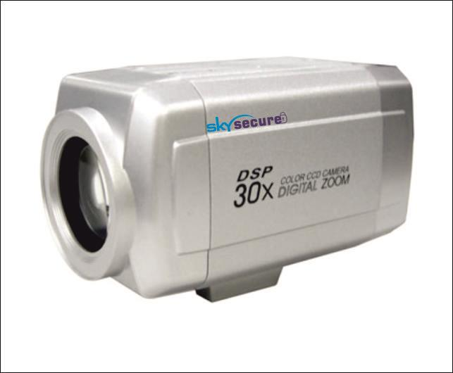 30X Zoom Camera Zoom upto 300mtr - by Sky Secure, Chandigarh