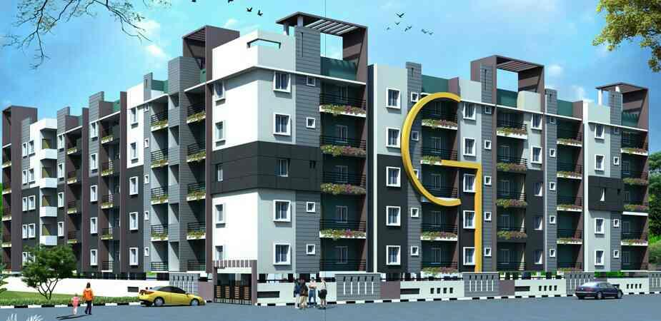 2/3 BHK Apartment near Manyatha Tech Park - by Meridian projects, Bangalore