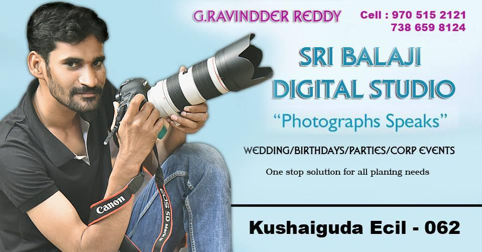 We deals in wedding, still, photography