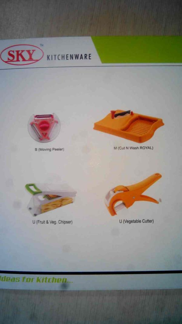 Kitchenware Manufacturer in Rajkot - by Sky Products, Rajkot