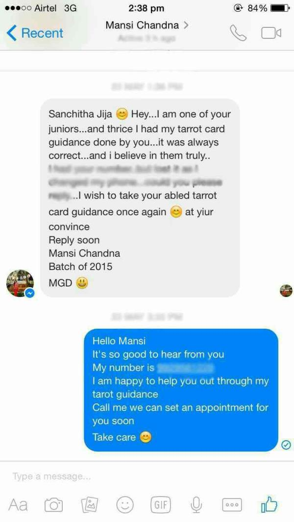 lovely people, lovely feedback 💜 - by Tarot Guidance By Sanchita, Jaipur