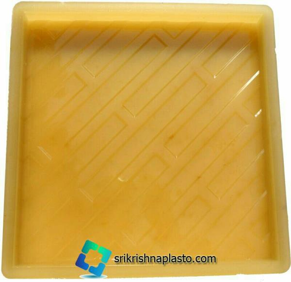 """""""Rubber Moulds for Designer Concrete Tiles"""" manufacture and export by SRI KRISHNA PLASTO. our rubber moulds for designer concrete tiles are computerized design and developed by our designing team.  be - by interlocking Paver Block Making Machine Manufacturers in Delhi India., Delhi"""