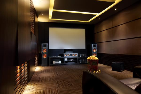 home theater assembled with klipsch speaker's! - by Royal Cinema & Sound By Omega Electronics, Jodhpur