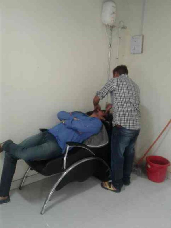 colers  washing  - by Lovely Hair Attraction(Hair & Beauty Care), Ajmer