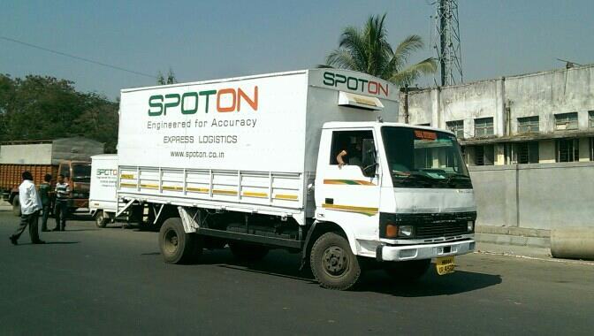 with 16000 pincodes, 240 locations, superior IT solutions and a day definite service SPOT ON , India's premiere logistics company, www.spoton.co.in - by Startrek Logistics Pvt Ltd(SPOTON), Bangalore