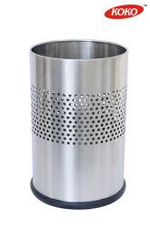 Half Plain Cylindrical SS Dustbin:-  We are a prominent entity in the market, engaged in offering the finest quality SS Dustbin. It is widely acknowledged in the market used as for collect waste. Developed using the finest quality material  - by Shapes Products Pvt.Ltd, Delhi