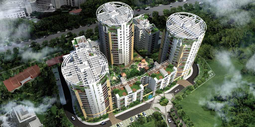 Vaswani Reserve offers 232 units, in a combination of 3, 4 and 5 Bedroom apartments in both single-level and duplex styles. - by Preprop properties, Bangalore