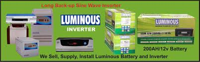 "Access Power Care System is the reputed supplier and service provider of all type of Luminous Inverter in Hyderabad and Andhra Pradesh. Luminous Higher 2 KVA Inverter: Note : Indicative value only, Actual Calculation Depends on Manufactures specification. CFL of 5W, TV of 14""-21"", Fan of 80W & Laptop of 80W. http://accesspowercare.com/"