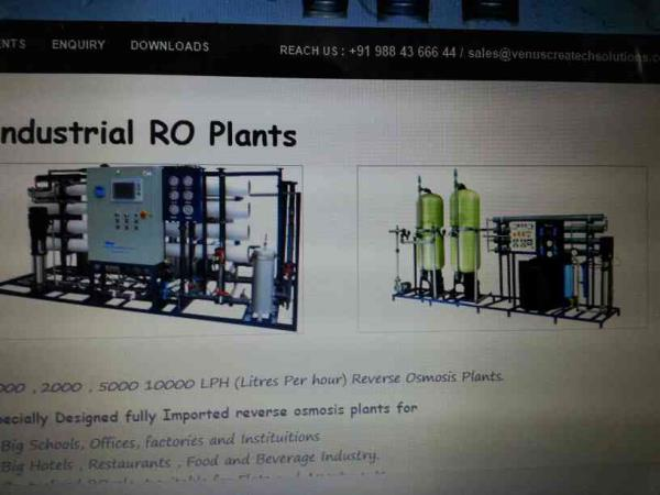 Industrial RO Plants Manufacturers In Chennai.                                                   we are the leading Manufacturers of Industrial RO Plants In Chennai And also can be customized as per requirement. - by Water Sparks, Chennai