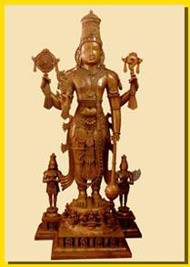 Manufacturers of Bronze Vishnu Sculptures  We are one of the Best Bronze Statues Manufactures for all kinds of Traditional Sculptures.  More info:  www.imok.in  - by Cast In Bronze Creative , Swamimalai