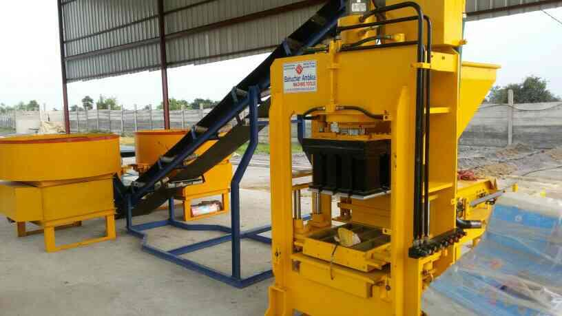 we are best quality of automatic fly ash Brick making  machine in Morbi