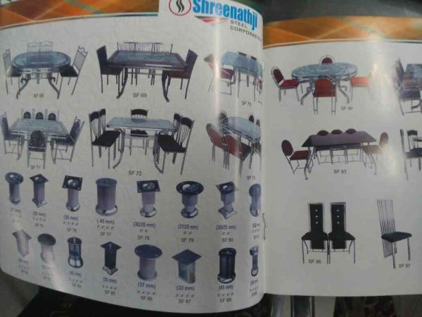 one stop solution of all type of Steel furniture in Ahmedabad.  SS Furniture is available in Competitive price in Ahmedabad. - by Shreenathji Steel Corporation, Ahmedabad