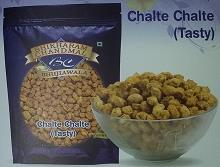 Chalte Chalte  Chalte Chalte (Tasty)  Bhikharam Chandmal Bhujiawala  Available In M.R.P Rupee 5, Rupee 10, & also in 200 g, 400 g pack  - by Bhikharam Chandmal Bhujiawala, Bikaner