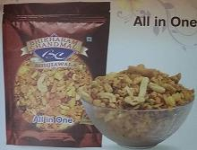 All in One  Bhikharam Chandmal Bhujiawala  Available In M.R.P Rupee 5, Rupee 10, also in 200 g, 400 g, 1 kg pack