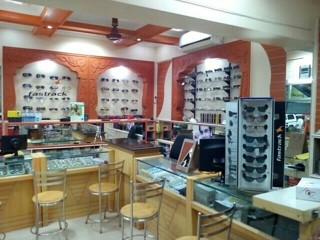 Our optical showroom in dindigul