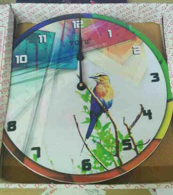 this is my latest designer wall clock.