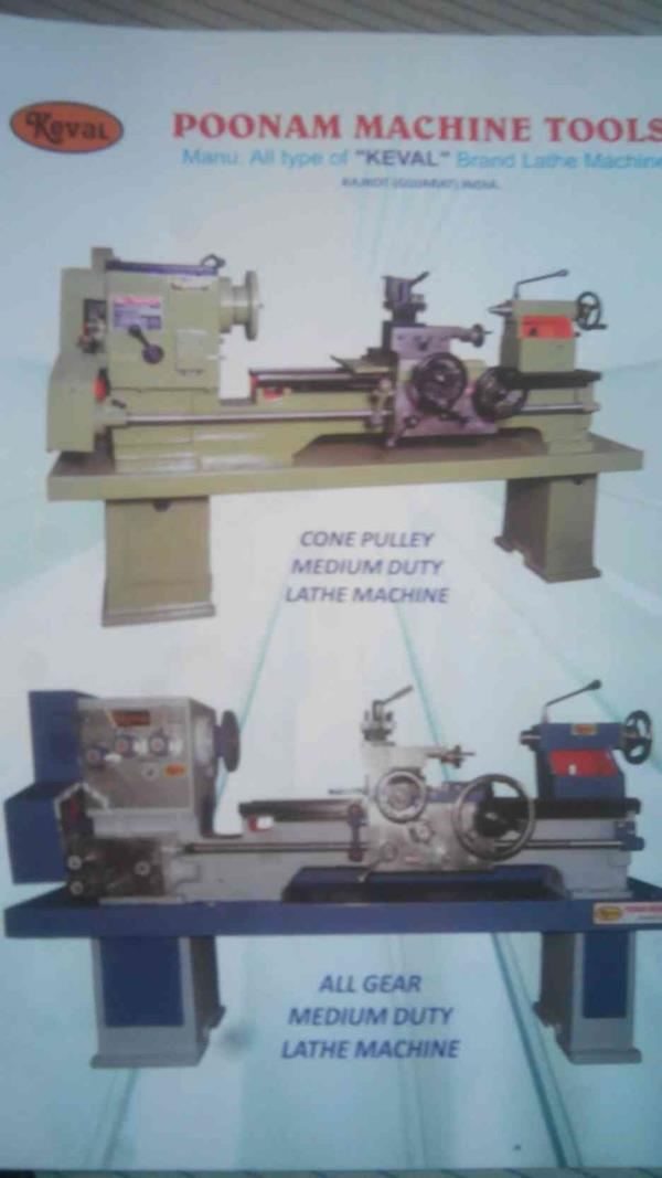 All Type of Lathe Machine Maufacturers in Rajkot - by Poonam Machine Tools, Rajkot