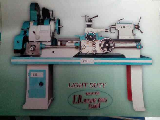 Light Duty Lathe Machine Manufacturer in Rajkot - by V.D.Machine Tools, Rajkot