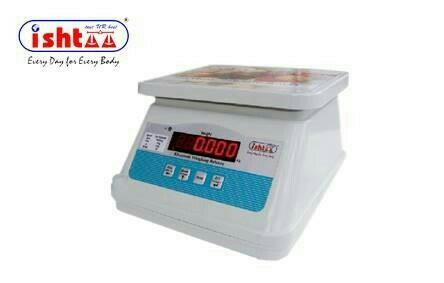 Best Waterproof Weighing Scale.. http://goo.gl/K6zB9r Ishtaa - SW Series Waterproof Scales Most Economic Weighing Scale High Accuracy & 100% Performance Oriented... With long Lasting Battery Backup With Dual Display Used in all Trade Places as Vegetable Market Weighing Scale Retail Weighing Scale Dairy weighing Scale Meats Weighing Scale Packing Units weighing scale Fruits Weighing Scale Easily Portable Weighing Scale Piece Counting & Parts Counting Scale Highly Customer Friendly & Compact in Design.  To Buy Now,  Call: 09843016028 Mail: online@ishtaascales.com