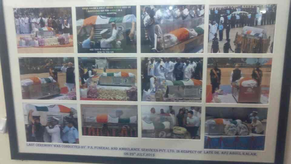 Last ceremony of funeral services of late APJ kalam ex-president of India  - by Funeral Services, Delhi