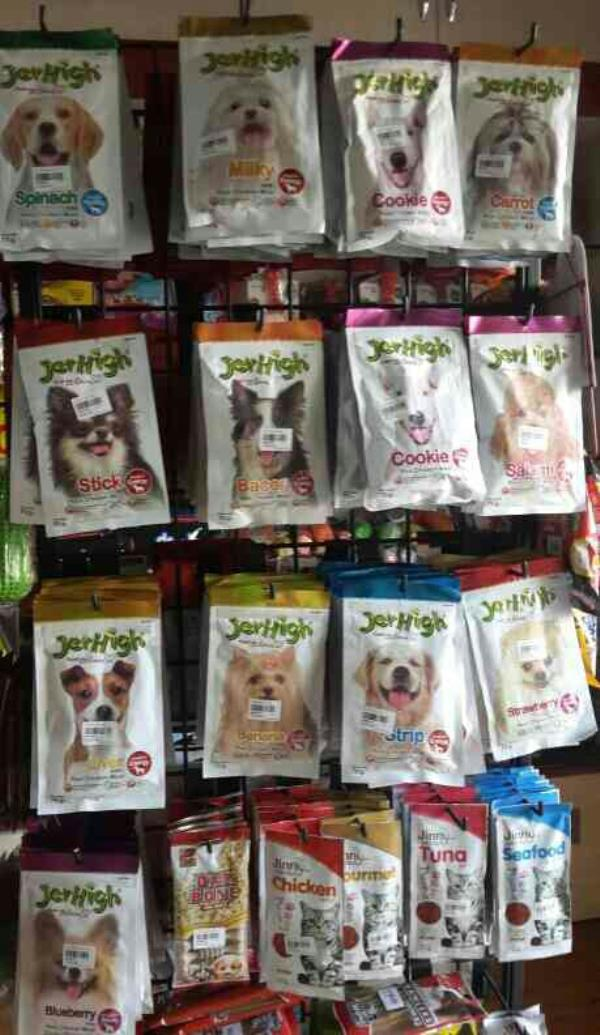 We have an  lovable Jer High Snaks for Dogs they Love to eat in Many Flavours. .. - by Khushi Pet Shopee, Pune