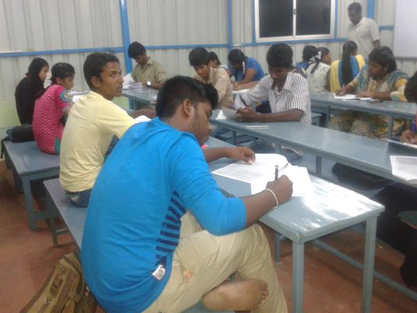 TODAY WE CONDUCTED PHYSICS EXAM FOR PLUS TWO STUDENTS - by shree sai Institute, Chennai